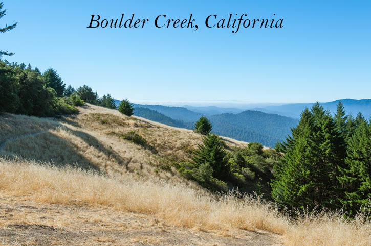 Boulder Creek California